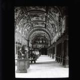 The library, El Escorial palace, Madrid