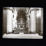 The altar at El Escarial, Madrid