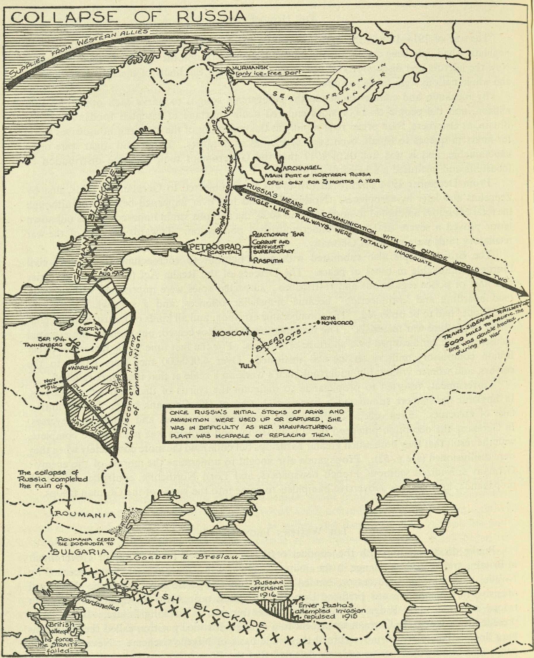 Maps of russia and the soviet union revolution and the first world war gumiabroncs Image collections