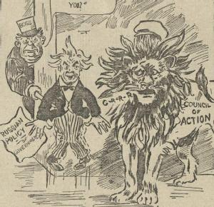 Cartoon from the Railway Review, 27 August 1920