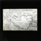 Map of Tamerlane's Empire