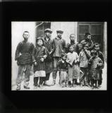 Group of beggars, Shanghai