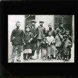 Group of beggars, Shanghai