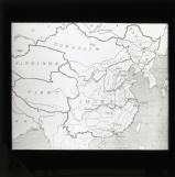 Map of China and neighbouring countries