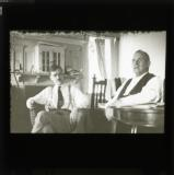 Earl Browder and Tom Mann