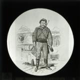 'Types de la Commune: Un Pointeur' [illustration from 'Les Communeux 1871. Types, caracteres, costumes' by Bertall]