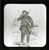 'Types de la Commune: Federes (Menilmontant-Charonne)' [illustration from 'Les Communeux 1871. Types, caracteres, costumes' by Bertall]
