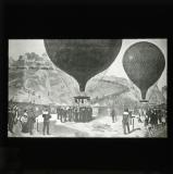 Léon Gambetta escapes from Paris by balloon ('L'Armand-Barbes')