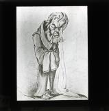 Cartoon portraying Jules Favre in tears