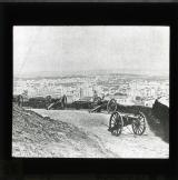 A cannon on the Butte Montmartre