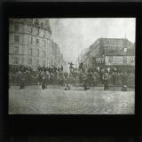 The barricades of 18 March 1871