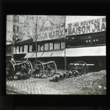 Barricades, Rue des Batignolles