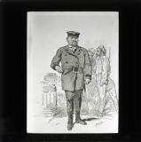 'Types de la Commune: Officier de Marine (Le Commandant Durassier)' [illustration from 'Les Communeux 1871. Types, caracteres, costumes' by Bertall]