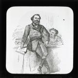 'Types de la Commune: Le Prefet de Police (Le citoyen Raoul Rigault)' [illustration from 'Les Communeux 1871. Types, caracteres, costumes' by Bertall]