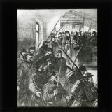 'The arrest of Archbishop Darboy' [illustration from 'My adventures in the Commune, Paris 1871' by Ernest Alfred Vizetelly]