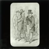 'Types de la Commune: Le Ministre de la Guerre (Le citoyen Delescluze)' [illustration from 'Les Communeux 1871. Types, caracteres, costumes' by Bertall]