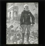 Cartoon of General Gallifet