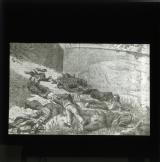 Illustration showing the bodies of executed Communards