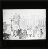 Outside the Hôtel de Ville