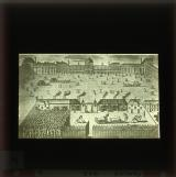 Famine Relief Works 1662. The King ordered the construction of bakehouses and the distribution of bread to the people in the court of the Tuileries, a royal sop to public discontent at the consequences of continual warfare.