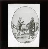 Clergy joins hands with the third estate: 'A peasant says shake hands Monsieur de Cure I know that you are on our side'
