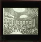Women make offerings to the National Assembly Sept. 7th 1789