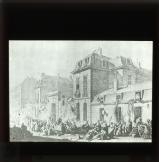 The mob pillage the house of the Duc de Castries, Nov. 13th 1790