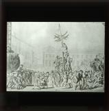 The advance guard of the Army of Moselle offer to the inhabitants the blessings of liberty and equality, 1793