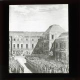 The fete given to Bonaparte after the treaty of Campo Formio