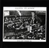 Council of Action, 1920, threatening a strike against a war by Poland against Russia