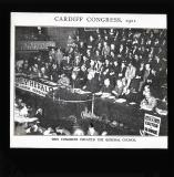 Cardiff Congress at which the Trades Union Council was set up