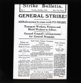 Strike Bulletin, Tuesday May 4th 1926