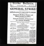 Strike Bulletin, Tuesday May 4th 1926