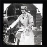 A special driver. Mrs Marshall Roberts who is well known in the polo world. She enrolled as a special constable in order to drive a police car.