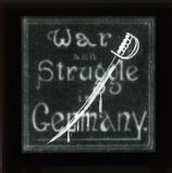Title slide: War and Struggle in Germany