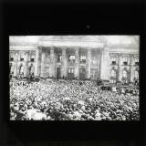 War prayer outside the Reichstag, 2 August 1914