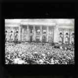 War prayer outside the Reichstag, 2 August 1914