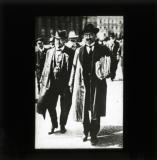 Karl Liebknecht attending court for trial