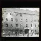 Barracks of the 'Life Guard pioneers' in Berlin after the attack of revolutionary forces, 7 January 1919