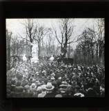 Demonstration with Karl Liebknecht as speaker