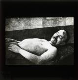 Karl Liebknecht in the mortuary