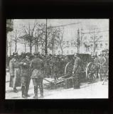 Berlin, March 1920: Troops with cannon