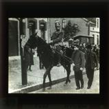March 1921: a demonstrator is arrested