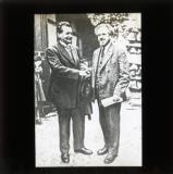Arthur Crispien and Otto Wels, 1922