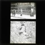 Hamburg, October 1923: food shops looted, dead lying in streets