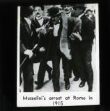 Mussolini's arrest at Rome in 1915