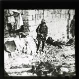 The capture of Hasbaya by the French in Syria – a scene during the attack showing the dead and dying on the ground