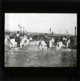 Fording the river Hisbani near Khasas