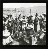 A band of Mexican irregulars on the U.S. frontier preparing for eventualities