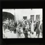 'Blessing the Mohammedan Flag on its being taken from the house of the Grand Mufti, Mousa Kasim Pasha'